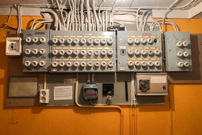 elcentral före byte
